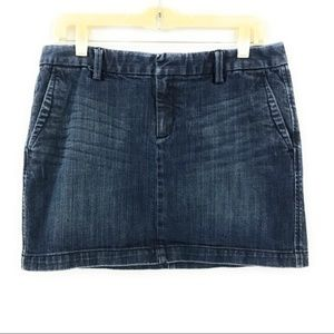 GAP Women's Denim Jean Mini Skirt, Size 8